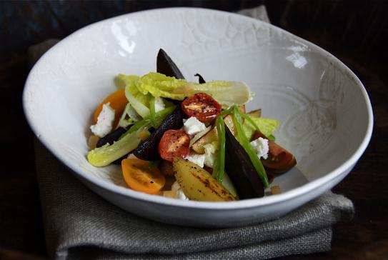 pickled-beet-heirloom-tomato-salad
