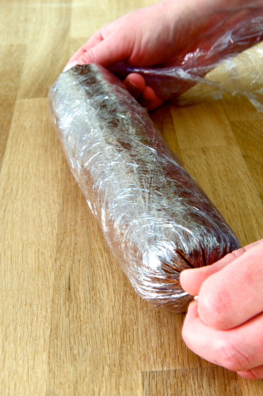 photo of Chocolate and Cranberry Salami