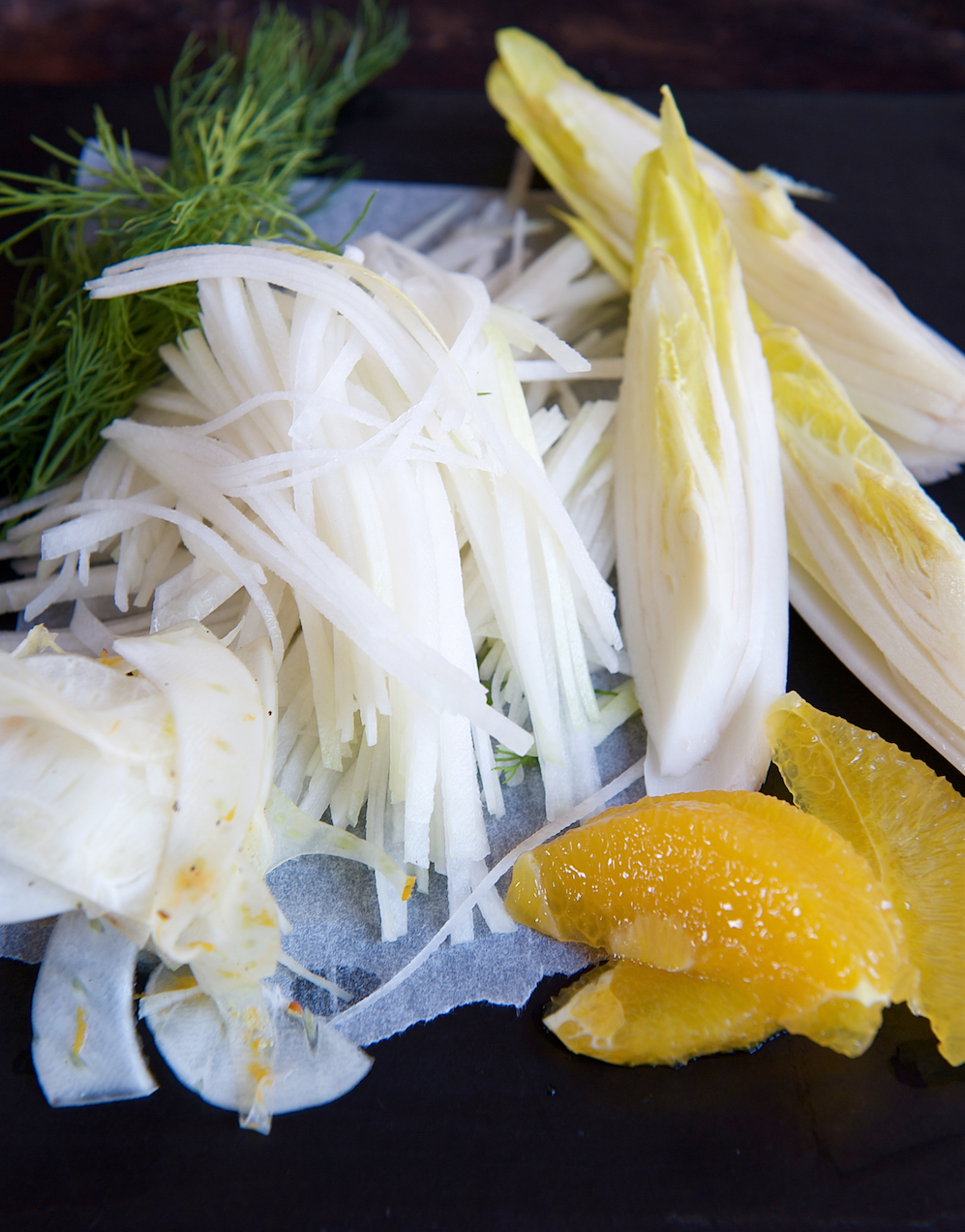 photo of Fennel, Seville Orange, Chicory and Kohlrabi Salad