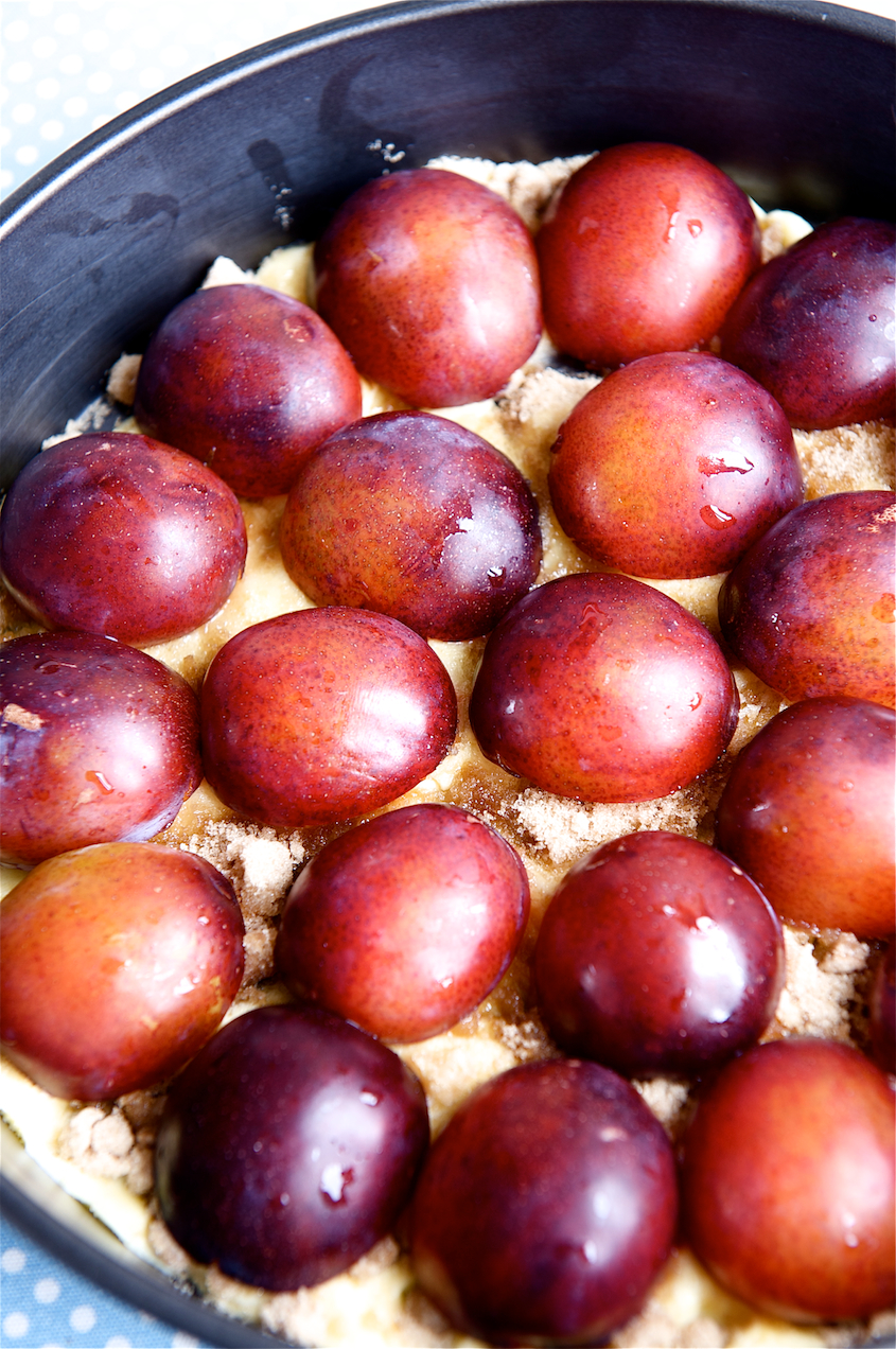 photo of Plum Upside Down Cake