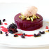 Honey, Plum and Blackberry Jelly with Plum Sorbet